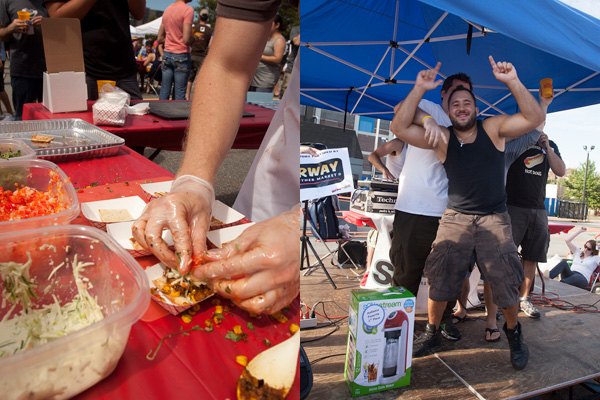 Deep Fried, Bacon-Topped and Drenched in Duck Fat: Scenes From the Great Hot Dog Cookoff