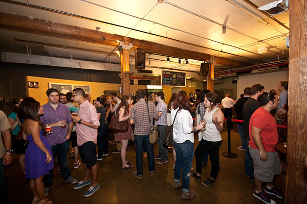 Photos: At the Release Party for Brooklyn Brewery's Fiat Lux
