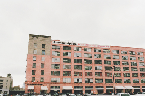 A Tour of the American Apparel Factory