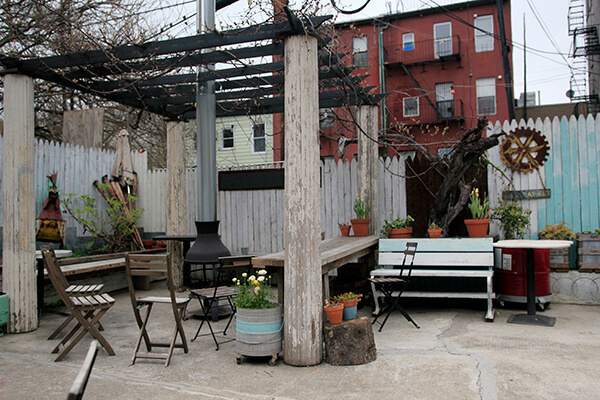 best outdoor dining and drinking in brooklyn