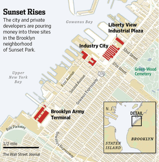 $100 Million Dedicated to Sunset Park's Gentrification