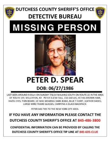 Find Peter Spear: Brooklyn Musician Has Been Missing Since Sunday