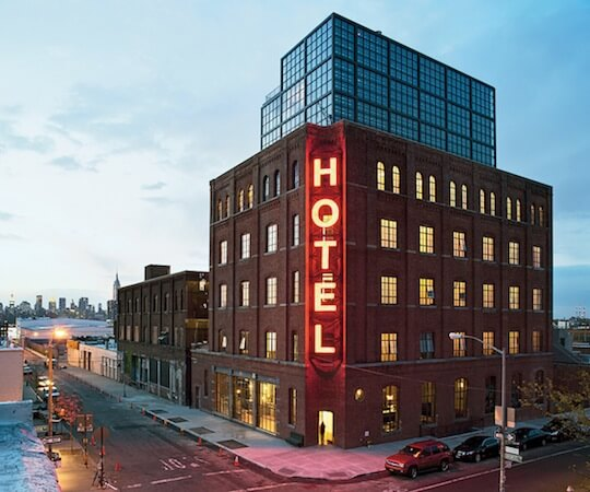 Spotlight on the Wythe Hotel