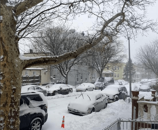 Snow in Windsor Terrace