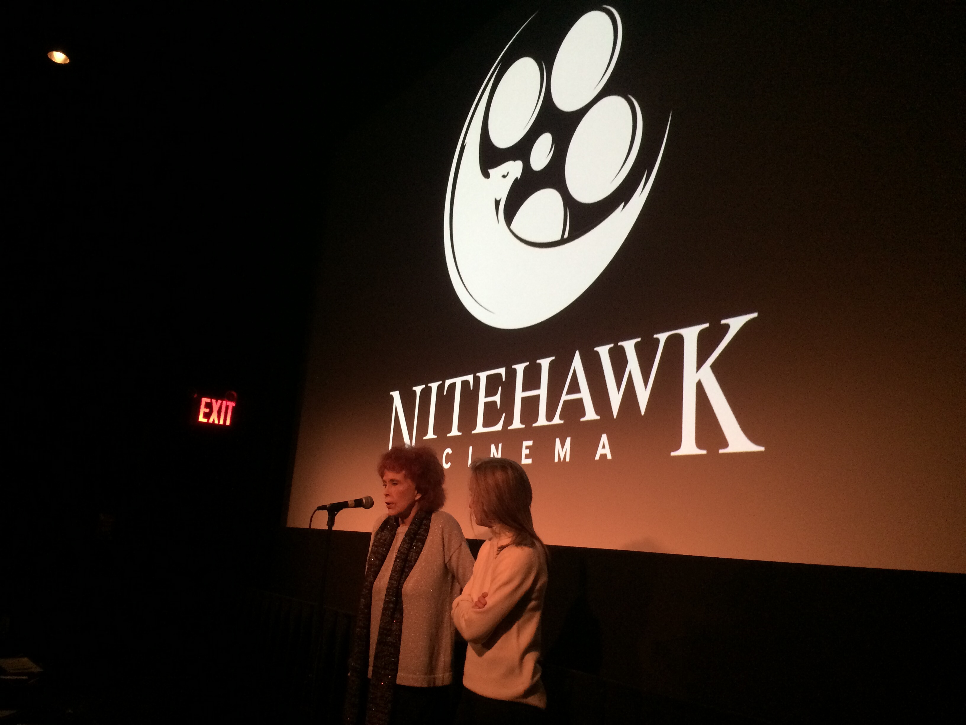 Kathryn Reed Altman and Giulia D'Agnolo Vallan (Photo: Nitehawk Cinema)