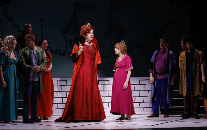 Once Upon a Mattress photo by Carol Rosegg