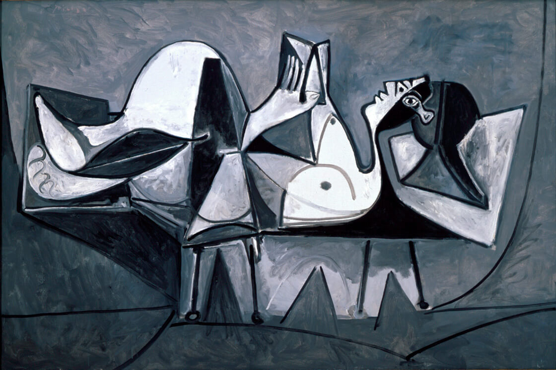 Femme Couchée Lisant Pablo Picasso, 1960 The Modern Art Museum of Fort Worth